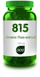 AOV 815 Groene thee extract 250 mg. 180 vcap.