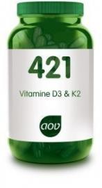 421 AOV Vitamine D3 & K2  60 VCap.