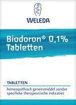 Weleda Biodoron 0.1 % tabletten 250 tabletten