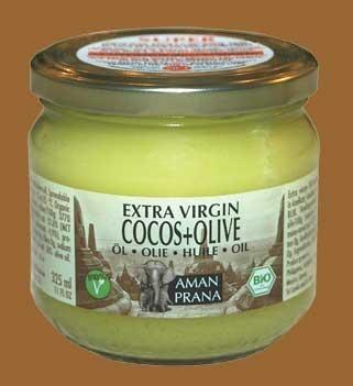 Aman prana kokosnoot olijfolie 325ml