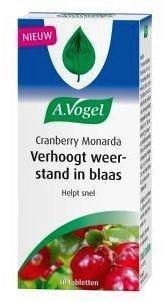 Dr Vogel Cranberry monarda 30 tabletten
