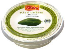 Tartex Pate creme basilicum 75g