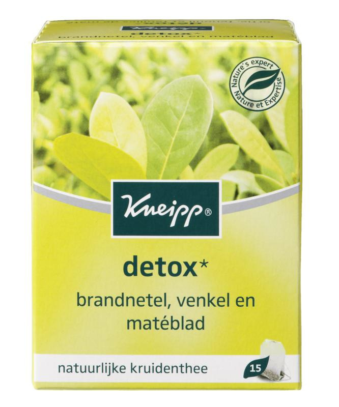 Detox thee 15 theezakjes
