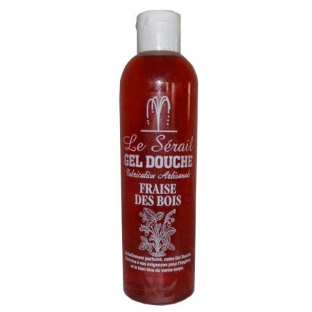 Marseille douche en bad gel Aardbeien 2x250ml