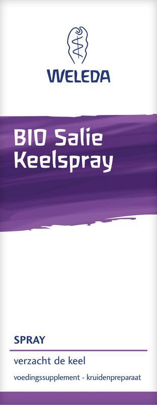 Weleda Bio salie Keelspry 20ml.