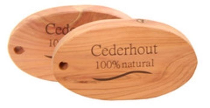 Cederhout anti mot ovaal 2st