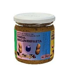 Monki pinda-rozijnenpasta eko 330g