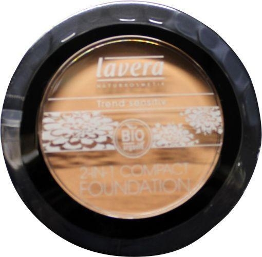 Lavera Compact foundation 2 in 1 ivory 1.  10g.
