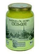 Aman prana kokosnoot olijfolie 1600ml
