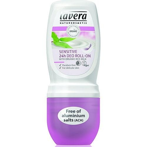 Lavera Deodorant roll-on sensitive with rice milk  50ml