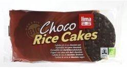 Lima rijstwafels pure chocola 100g