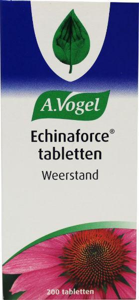 A Vogel Echinaforce 200 tabletten.