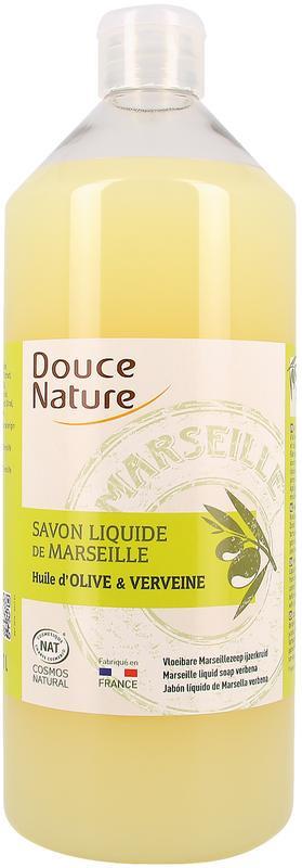 Marseille zeep vloeibaar met Olijf en Verveine1000ml