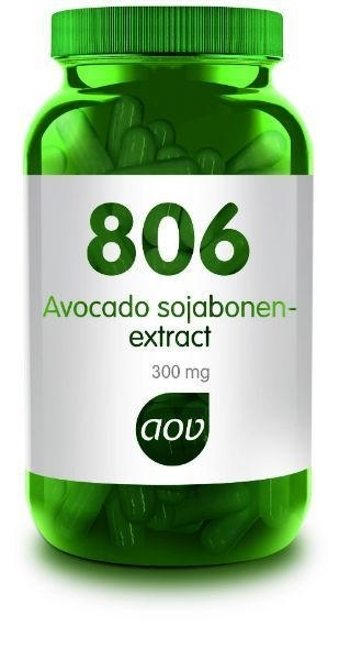 AOV 806 Avocado Sojabonen extract 60 Cap.