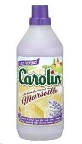 Carolin met Marseille zeep en Lavendel 1L