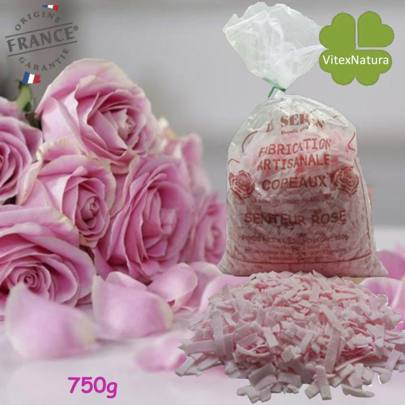 Marselha sabão flocos com óleo essencial de Rosa 750g