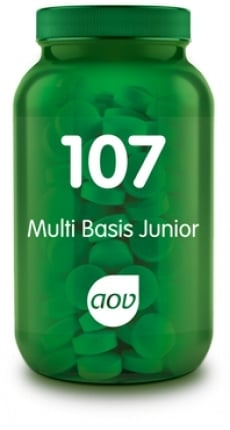 AOV 107 Multi Basis Junior 60 Kauwtabletten