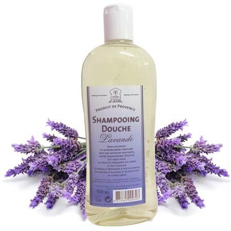 Marseille douche & shampoo Lavender 3x500ml