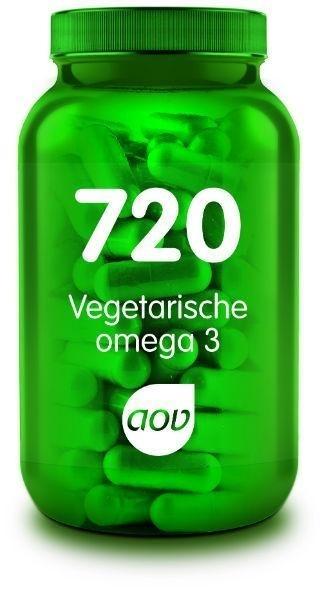 AOV 720 Vegetarische Omega 3      60 Cap.