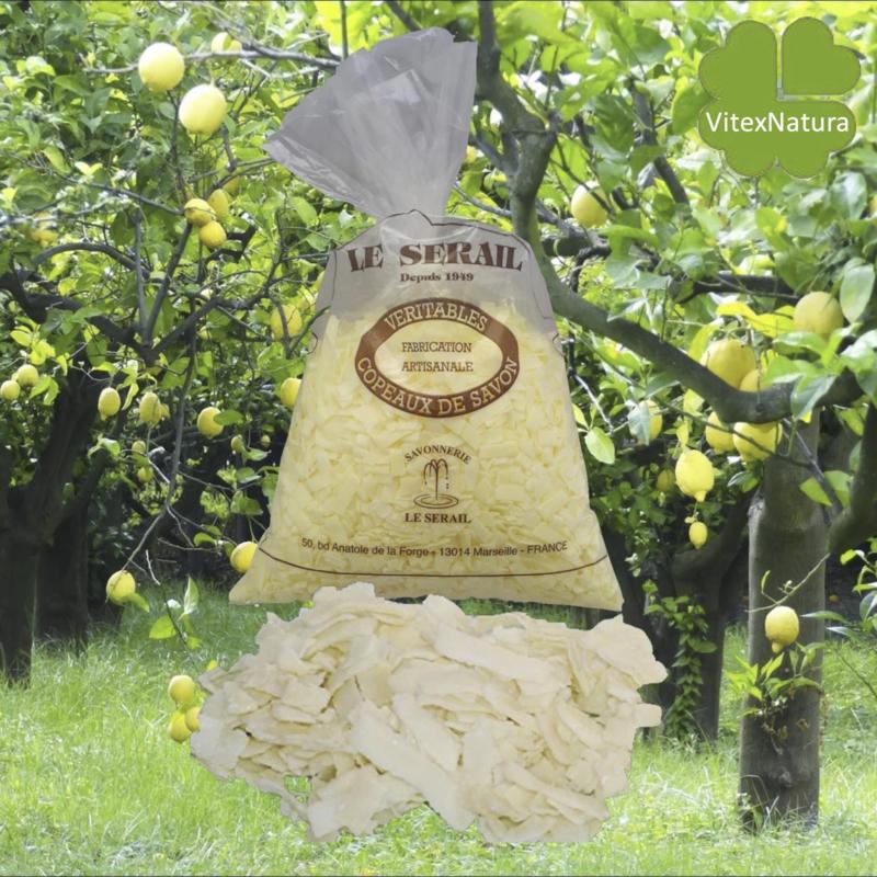 Marsilya sabunu gevreği Limon 2x1kg