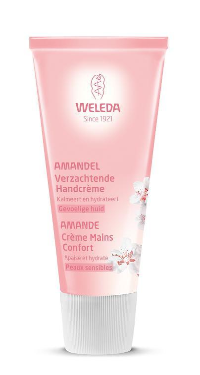 Weleda Amandel verzachtende handcreme 50 ml.
