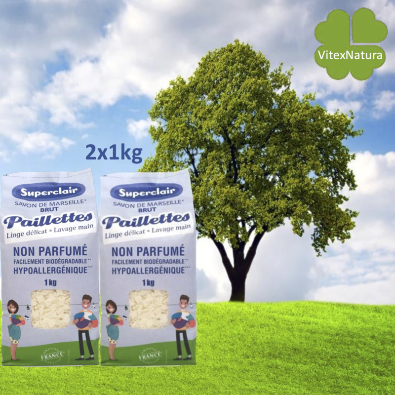 Płatki mydła marsylskiego Naturalne 2x1kg