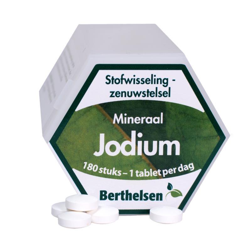 Jodium mineraal 180 tabletten