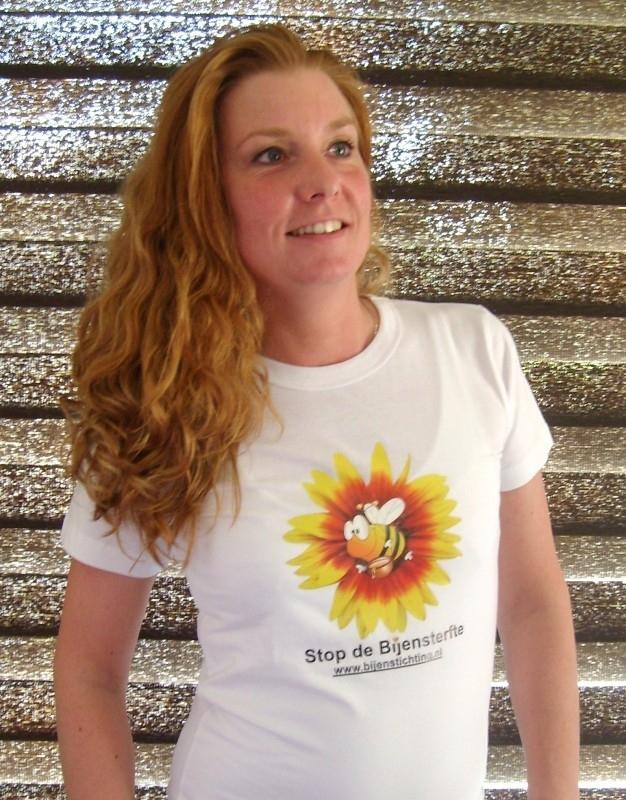 Dames T-Shirt Stop de Bijensterfte