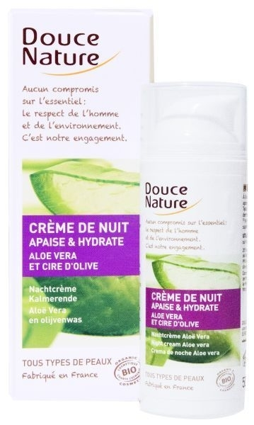 Douce Nature  Hydraterende Nachtcrème bio 50ml