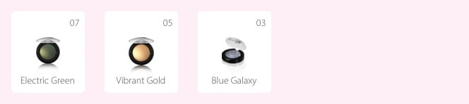 Lavera Eyeshadow illuminating blue galexy 1.5g. nm 3