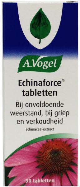 A Vogel Echinaforce TKG griep 30 tabletten.