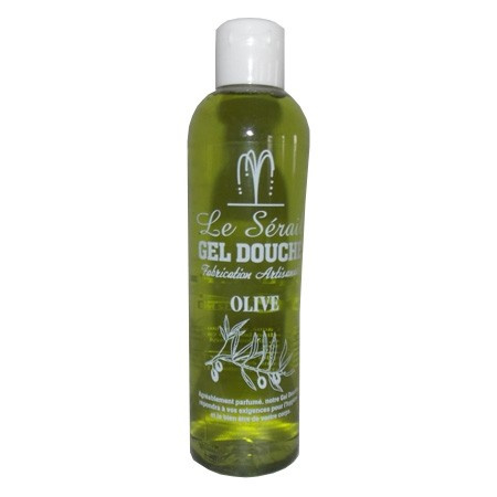 Marseille shower and bath gel olive 24 x 250ml