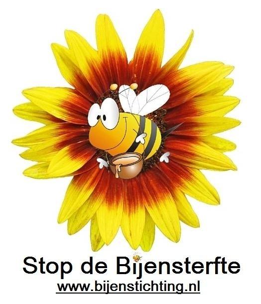 Heren T-Shirt Stop de Bijensterfte