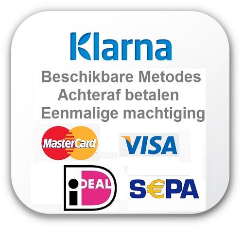 Gemakkelijk betalen met Klarna