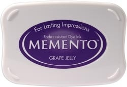 407300 Memento Full Size Dye Inkpad Grape Jelly