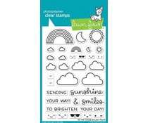 LF2331 Lawn Fawn All the Clouds Clear Stamps