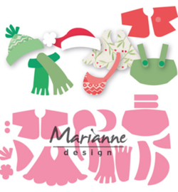 COL1438 Marianne Design Collectables Eline's outfits