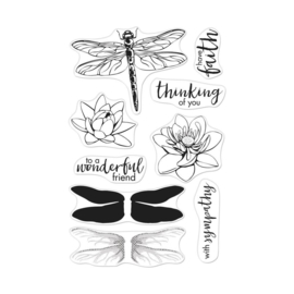 "573169 Hero Arts Clear Stamps 4""X6"" Mix & Match Compliments"