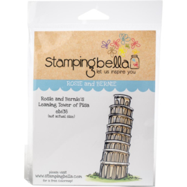 447216 Stamping Bella Cling Stamps Rosie & Bernie's Tower Of Pisa