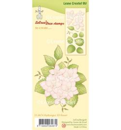 55.4674 Leane Creatief Clear Stamp Hydrangea 3D flower