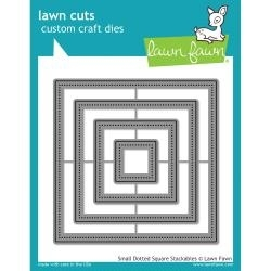 LF1280 Lawn Cuts Custom Craft Die Small Dotted Square