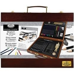 513884 Wooden Box Art Set