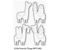 MFT-1403 My Favorite Things Happy Llamadays Die-Namics