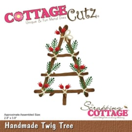 CC521 Cottage Cutz Die Handmade Twig Tree