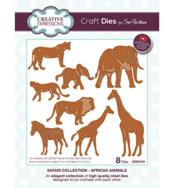 CED1310 The Safari Collection  African Animals