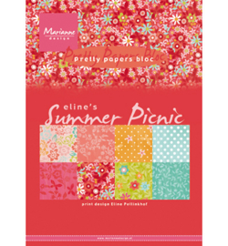 PB7056 Pretty Papers Blocks Eline's Summer picnic