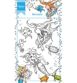 HT1619 Marianne Design Hetty's Mermaid