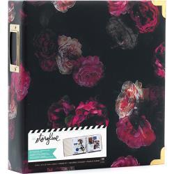 "380269 Heidi Swapp Storyline2 D-Ring Album Dark Floral 8.5""X11"""