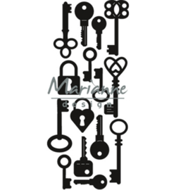 CR1435 Marianne Design Craftables Punch die keys