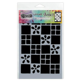 DYS75301 Ranger Dylusions Stencils Square Dance Small